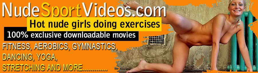 gimnasia nudista, aerobic, yoga sin ropa, fitness, danza, deportes desnudos