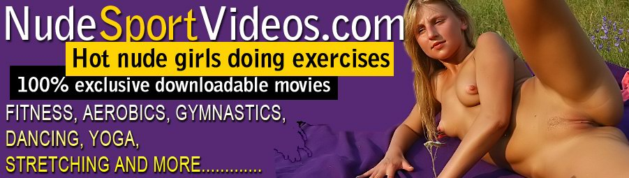 Nackte Gymnastik Aerobic Yoga Fitness Nacktes Tanzen Nackten