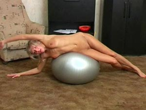 FEMALE YOGA NUDE POSES