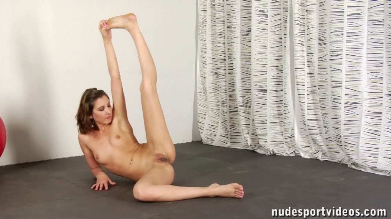 Flexible naked girls fingering