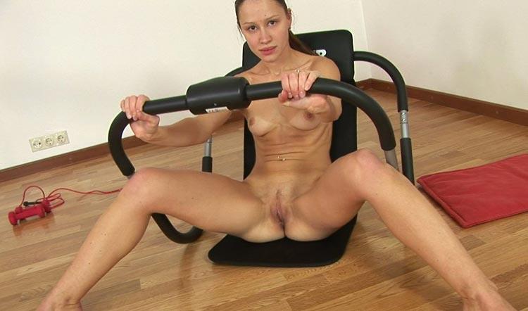 Русская гимнастические порно игрушками