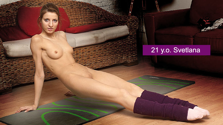 Yoga female sex nudes